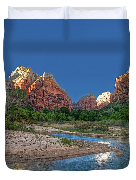 Virgin River Bend Duvet Cover