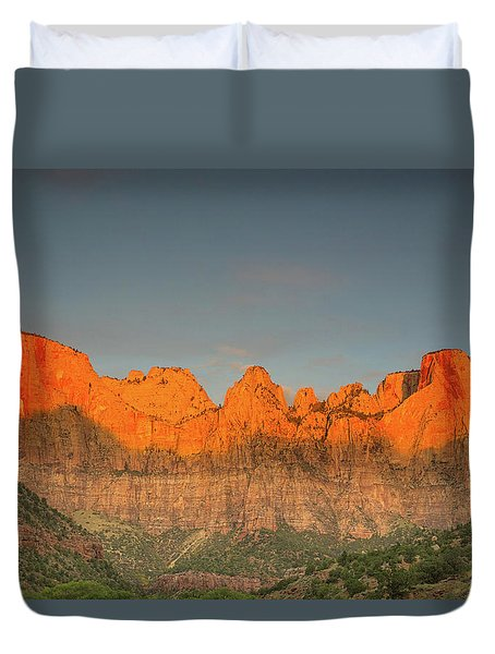 Virgin Sunset Duvet Cover