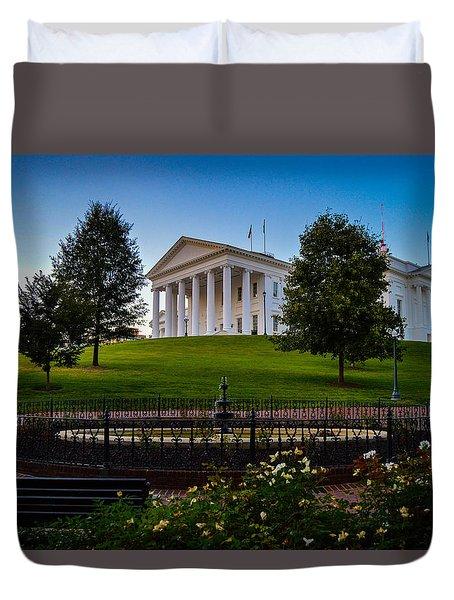Virginia Capitol Building Duvet Cover