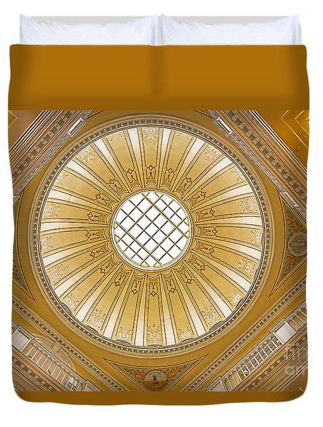 Virginia Capitol - Dome Duvet Cover