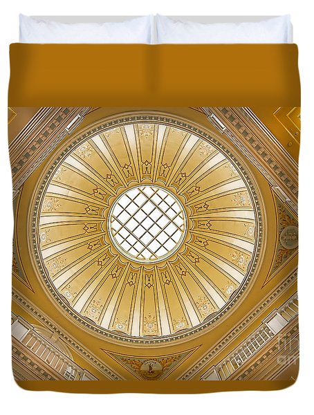 Virginia Capitol - Dome Duvet Cover