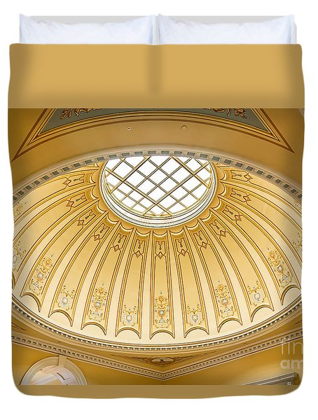 Virginia Capitol - Dome Profile Duvet Cover