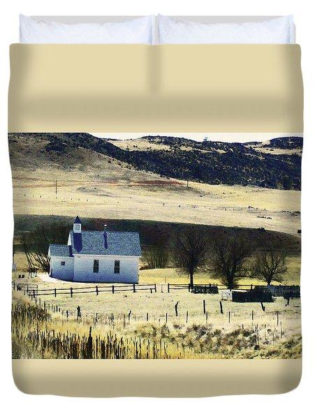 Virginia Dale Colorado Duvet Cover by Lenore Senior