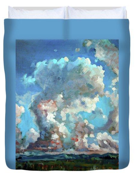 Virginia Sky Duvet Cover