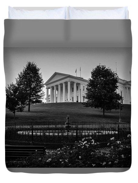 Virginia State Capitol Duvet Cover