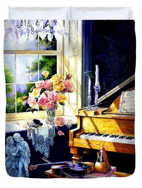 Virginia Waltz Duvet Cover