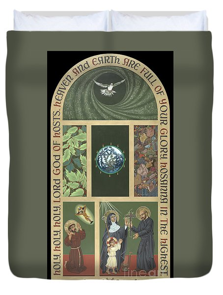 Viriditas - Finding God In All Things Duvet Cover