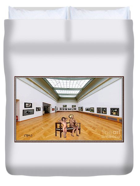 Virtual Exhibition - 32 Duvet Cover by Pemaro