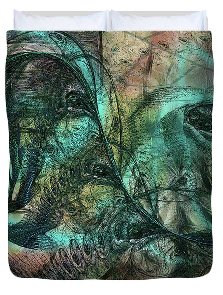 Virulent Germination Duvet Cover