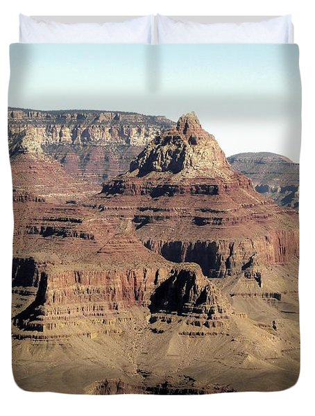Vishnu Temple Grand Canyon National Park Duvet Cover
