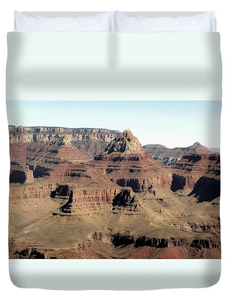 Vishnu Temple Grand Canyon National Park Duvet Cover