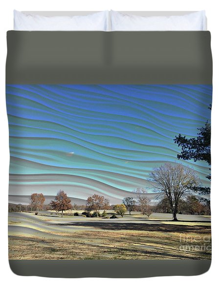 Visible Chill Duvet Cover