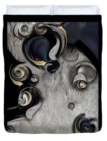 Vision Of Aesthetic Thing Duvet Cover by Carmen Fine Art