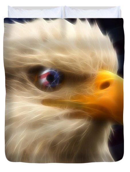 Vision Of Freedom II Duvet Cover