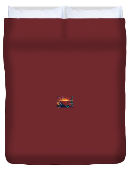 Vision Quest Duvet Cover