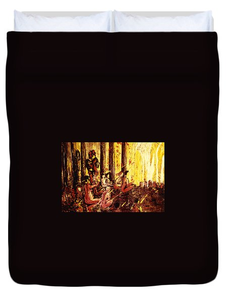 Visionaries Duvet Cover