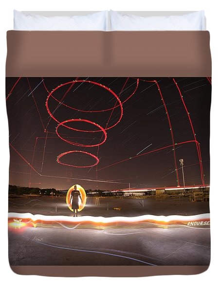Visionary Duvet Cover by Andrew Nourse