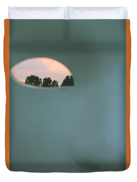 Visions At Sunset Duvet Cover