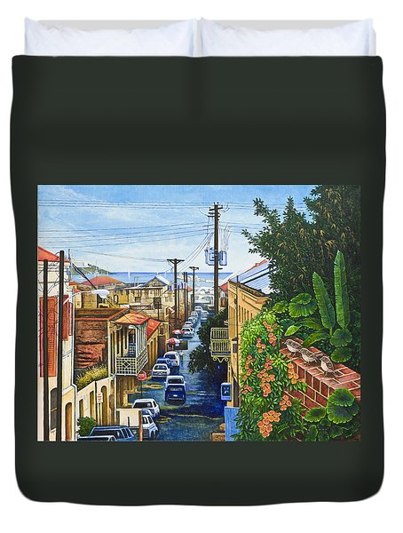 Visions Of Paradise Vii Duvet Cover