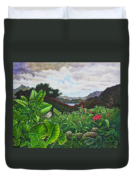 Visions Of Paradise Viii Duvet Cover