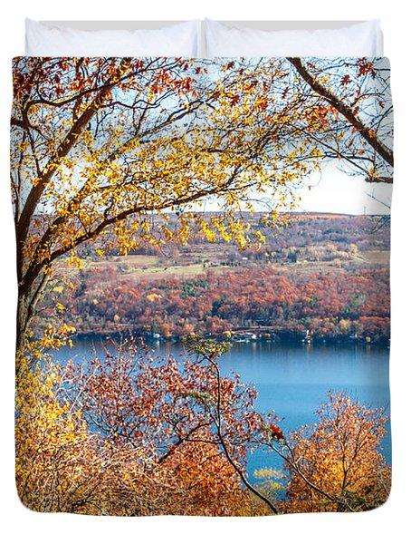 Vista From Garrett Chapel Duvet Cover