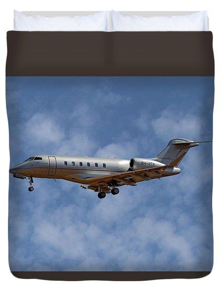 Vista Jet Bombardier Challenger 300 1 Duvet Cover