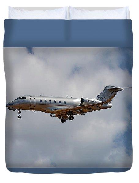 Vista Jet Bombardier Challenger 300 5 Duvet Cover