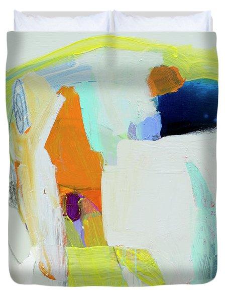 Vitreous Narcissus Duvet Cover