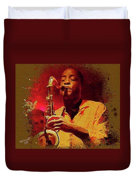 Viva Hot Jazz Duvet Cover