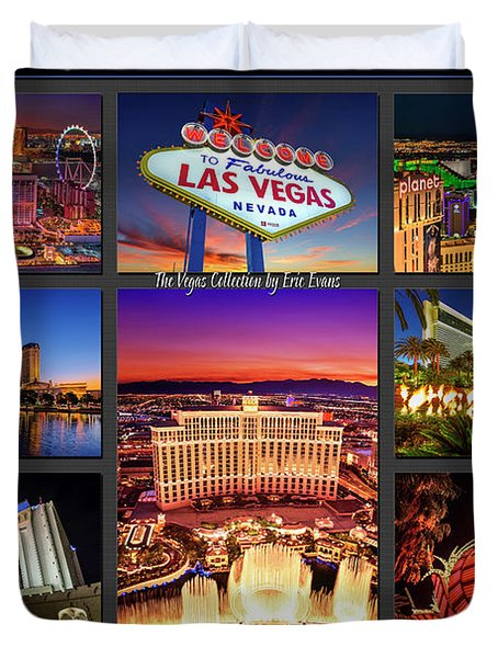 Viva Las Vegas Collection Duvet Cover