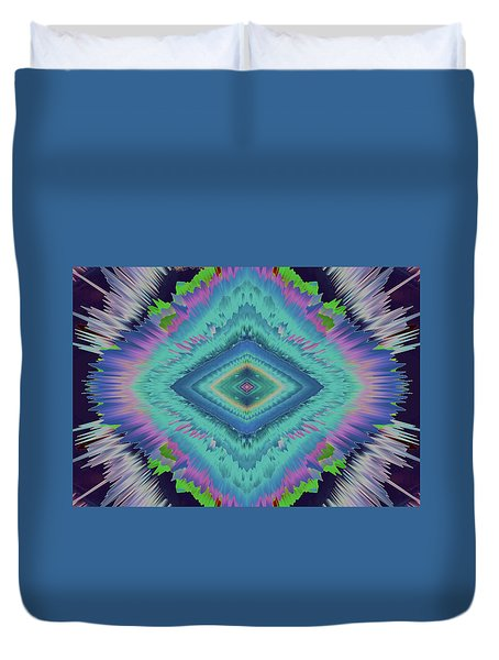 Duvet Cover featuring the photograph Exponential Flare 2 by Colleen Taylor