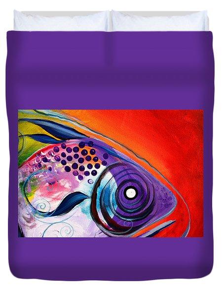 Vivid Fish Duvet Cover