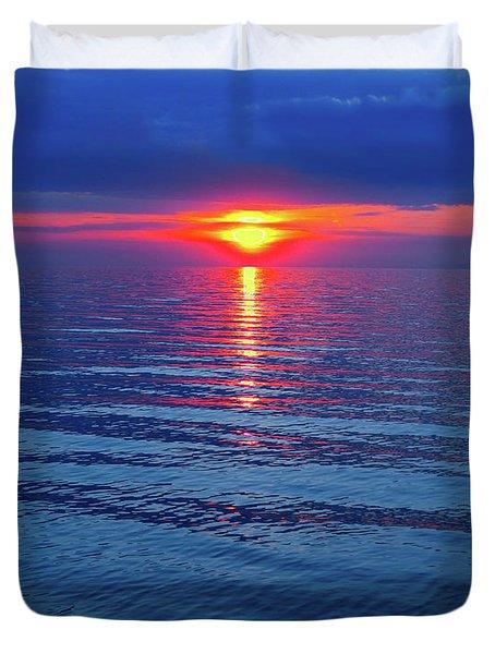 Vivid Sunset Duvet Cover