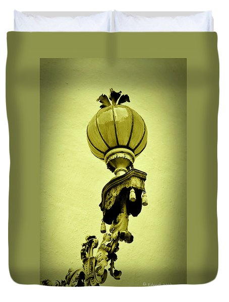 Vizcaya Lamp Duvet Cover
