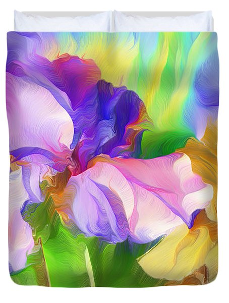 Voices Of Spring Duvet Cover