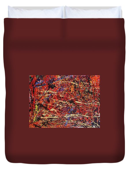 Voices Duvet Cover