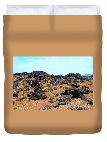 Volcanic Field Duvet Cover