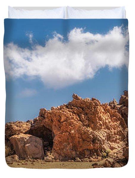Volcanic Rocks Duvet Cover