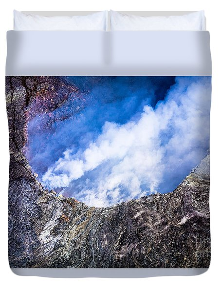 Duvet Cover featuring the photograph Volcano by M G Whittingham