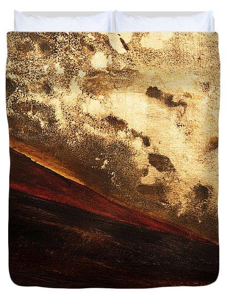 Volcano Sunrise Duvet Cover by Tara Thelen - Printscapes