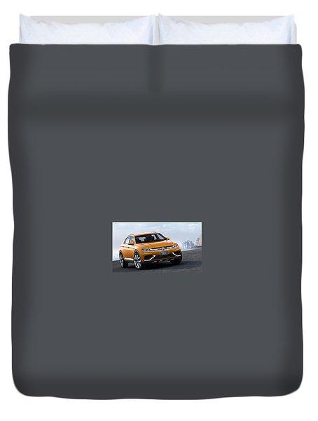 Volkswagen Crossblue Duvet Cover