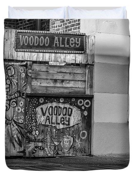 Voodoo Alley Duvet Cover