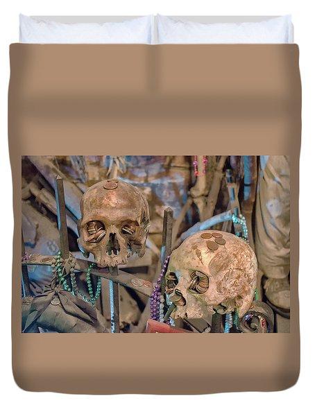 Voodoo Altar Duvet Cover