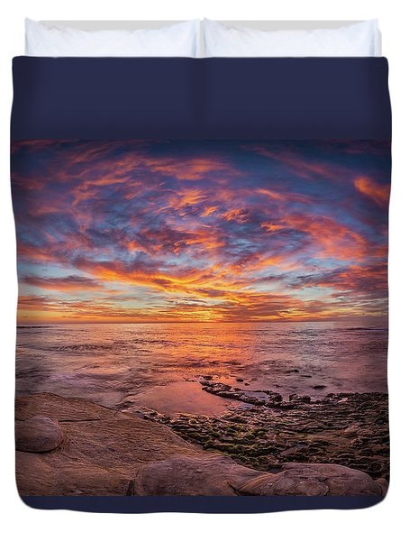 Vortex Duvet Cover by Peter Tellone