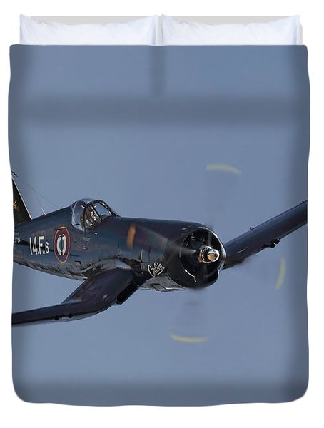 Vought Corsair Duvet Cover by Pat Speirs