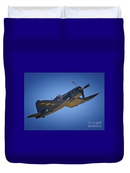 Vought F4u Corsair No. 29 To Angels Eleven Duvet Cover
