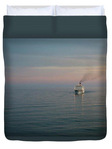 Voyage Home 4 Duvet Cover