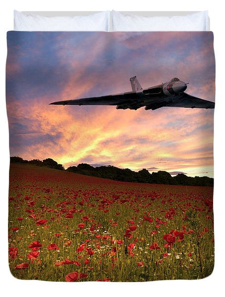 Vulcans End Duvet Cover