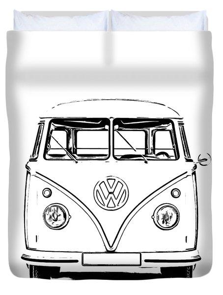 Bus  Duvet Cover