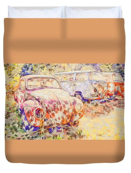 Vw Rest Home Duvet Cover